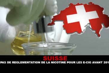 SWITZERLAND: אין תקנה של ניקוטין עבור סיגריה אלקטרונית לפני 2018.