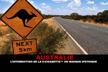 אוסטרליה: האיסור על סיגריות אלקטרוניות? חוסר מוסר.