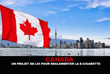 CANADA: A bill to regulate the e-cigarette.