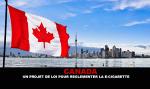 加拿大:一项管制电子香烟的法案。