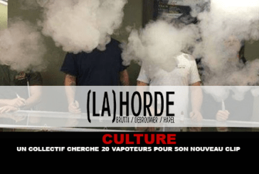 CULTURE: A collective is looking for 20 vapoteurs for its new video.