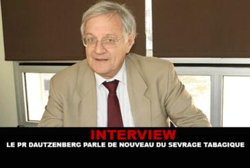 INTERVIEW: Professor Dautzenberg talks again about smoking cessation.