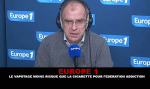 EUROPE 1: Vagotage less risky than cigarette for federation addiction.