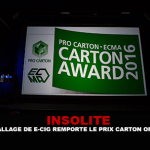 INSOLITE: E- סיגריה החבילה זוכה קרטון של השנה פרס