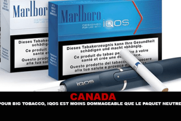 CANADA: For Big Tobacco, Iqos is less damaging than the neutral package ...