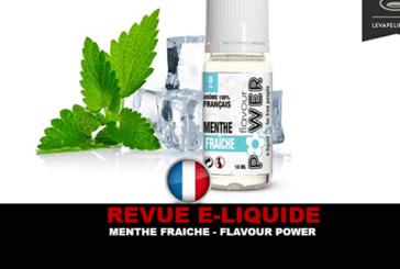 REVUE : MENTHE FRAÎCHE (GAMME 50/50) PAR FLAVOUR POWER