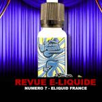 RECENSIONE: N ° 7 (GAMMA DI CREME DOLCI) DI ELIQUID FRANCE