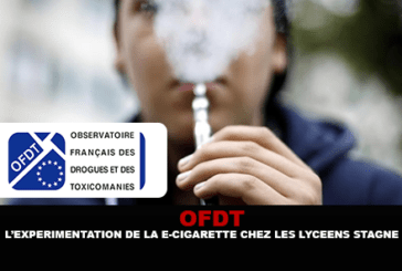 OFDT: Experimentation of the e-cigarette among high school students stagnates.