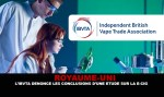 ROYAUME-UNI : L'IBVTA dénonce les conclusions d'une étude sur la e-cigarette.