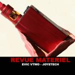 REVUE : EVIC VTWO 80W KIT PAR JOYETECH