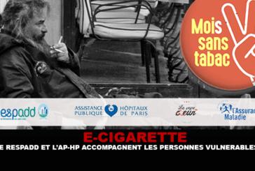 E-CIGARETTE : Le Respadd et L'AP-HP accompagnent les personnes vulnérables vers l'arrêt du tabac.