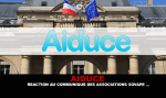 AIDUCE : Réaction au communiqué des associations Sovape...