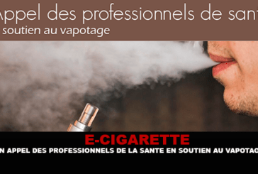 E-CIGARETTE: A call from health professionals to support vaping.