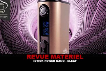 RECENSIONE: ISTICK POWER NANO DI ELEAF