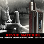 RECENSIONE: BOX THERION BF 75W E DRIPPER BF DELIRIUM BY LOST VAPE