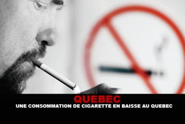 CANADA : Une consommation de cigarette en baisse au Québec.