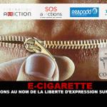 E-CIGARETTE: פעולות בשם חופש הביטוי על vape.