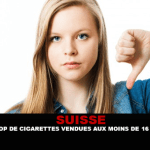 SWITZERLAND: Too many cigarettes sold to less than 16 years.