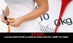 STUDIE: De e-sigaret om gewichtstoename te voorkomen bij het stoppen met roken.