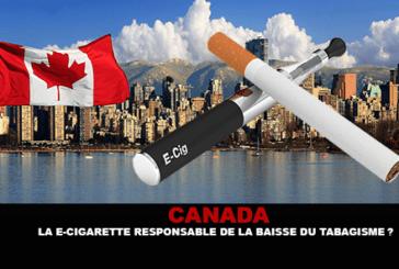 CANADA : La e-cigarette responsable de la baisse du tabagisme ?