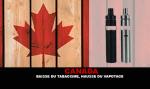 CANADA : Baisse du tabagisme, hausse du vapotage.