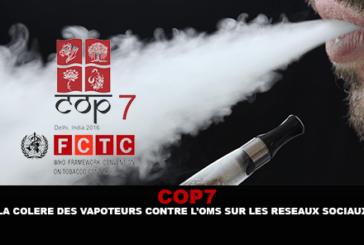 COP7: הכעס של vapers נגד WHO על רשתות חברתיות.