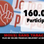 MOI(S) SANS TABAC : Plus de 160.000 Français relèvent le défi !