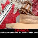 CANADA : Ottawa dépose son projet de loi sur la cigarette électronique.