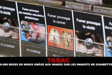 ÉTATS-UNIS : 650 000 décès en moins grâce aux images sur les paquets de cigarette ?