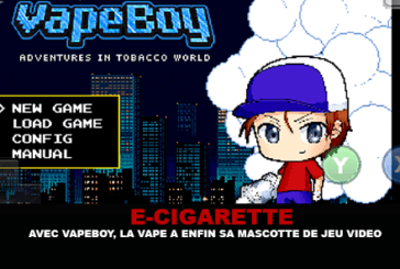 E-CIGARETTE: עם Vapeboy, vape סוף סוף יש קמיע משחק הווידאו שלה.