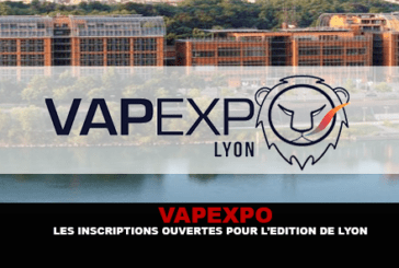 VAPEXPO: Open registrations for the Lyon edition.