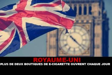 英国:尽管有错误信息,但每天都会有超过2电子烟店开业。