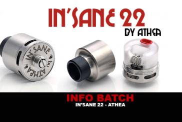INFO BATCH : In'Sane 22 (Athea)