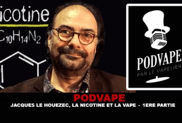 PODVAPE: Ο Jacques Le Houezec, η νικοτίνη και η βαλβίδα (1re Part)