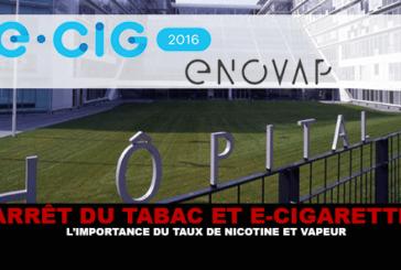 ARRÊT DU TABAC ET E-CIGARETTE : l'importance du taux de nicotine et de vapeur !