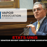USA: l'ex senatore diventa direttore di un'associazione di vape.