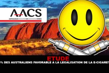 ÉTUDE : 73% des Australiens favorable à la légalisation de la e-cigarette