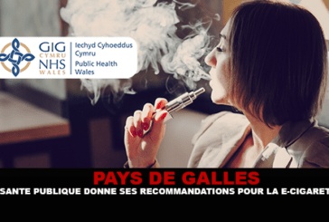 WALES: Welsh public health gives its recommendations for the e-cigarette.