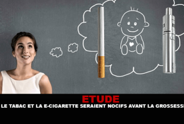 STUDIO: il tabacco e le sigarette elettroniche sarebbero dannosi per il bambino prima della gravidanza.