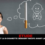 STUDY: Tobacco and e-cigarettes would be harmful to the baby before pregnancy.