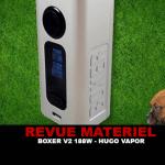 סקירה: BOXER V2 188W ידי הוגו VAPOR
