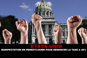 UNITED STATES: Demonstration in Pennsylvania to denounce 40 tax on e-cigarette
