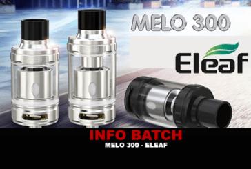 INFORMAZIONI SUL LOTTO: Melo 300 (Eleaf)