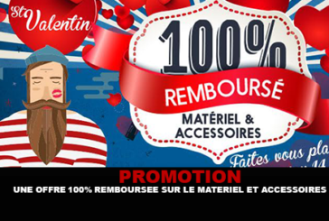 PROMOTION: A 100% offer refunded on equipment and accessories at Vapoter.fr