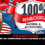 קידום: הצעה 100% החזר על ציוד ואביזרים ב Vapoter.fr