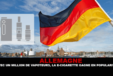 GERMANY: With a million vapers, the e-cigarette is gaining popularity.
