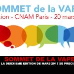 SOMMET DE LA VAPE : La deuxième édition de Mars 2017 se précise.