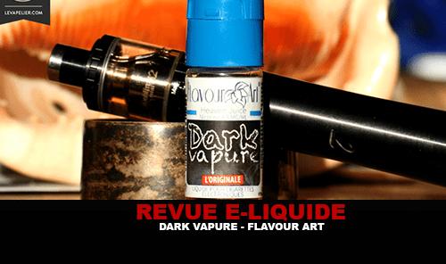 REVUE : DARK VAPURE PAR FLAVOUR ART