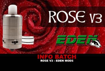INFO BATCH : Rose V3 (Eden Mods)