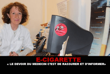 "E-CIGARETTE: ""The duty of the doctor is to reassure and inform"""